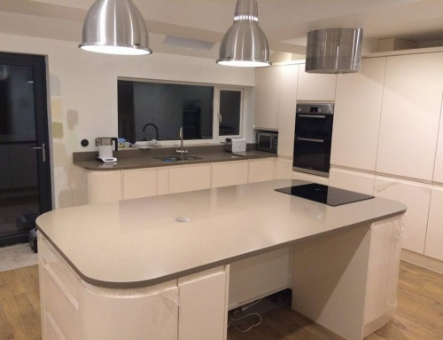 Extension with Open Plan Kitchen Diner