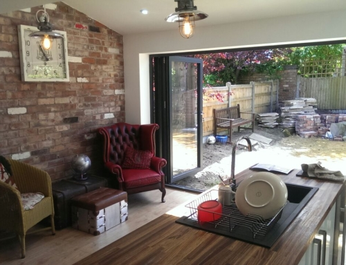 Extension with Bi-Fold Doors
