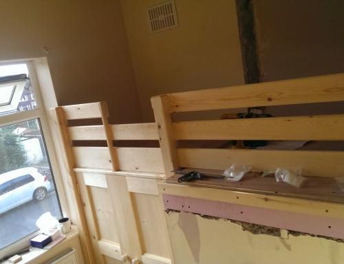 Creative use of space – bespoke furniture