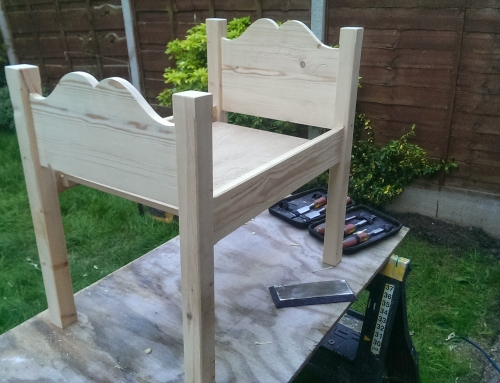 Bespoke Furniture – Childs bed